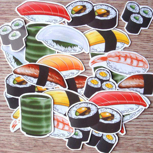 お寿司☆フレークシール