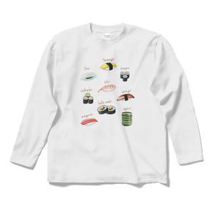 お寿司☆ロングスリーブTシャツ