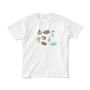 チョコミントTシャツVer.D【短期納品】