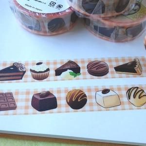 チョコレートスイーツ☆マスキングテープ
