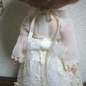 1/6Doll dress /  white flower Ⅱ