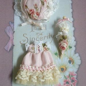 Petit dress bouquet /Rose