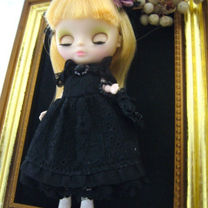 Petit dress /Romantic Black