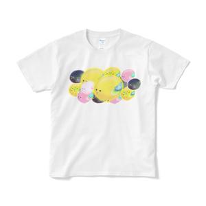 いろいろたまご鳥ちゃんTシャツ(全4色)
