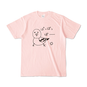 はとぽっぽーTシャツ(NEWライトカラー/全4色)