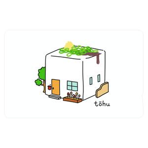 豆腐ハウス ICカードステッカー
