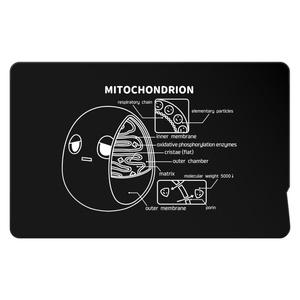 ミトコンドリア(黒) ICカードステッカー
