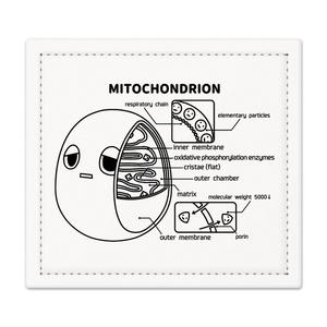 ミトコンドリア(白) 捺印マット