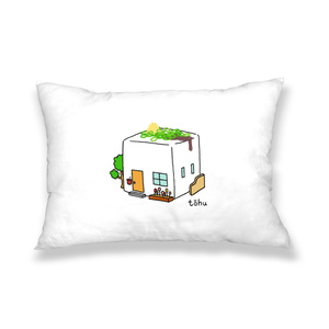 豆腐ハウス 枕カバー