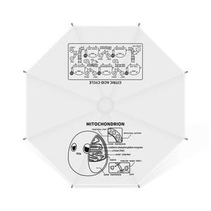 ミトコンドリア(白) 卓上ミニ傘