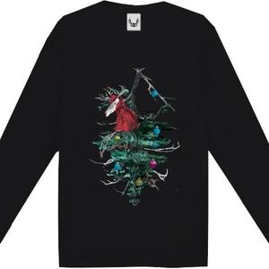 Anti X'mas ロングT-shirt【FREEsize】