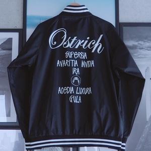 """Ostrich"" MA-1 style Jacket【FREE size】"