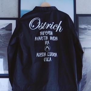 """Ostrich"" Coach Jacket【FREE size】"