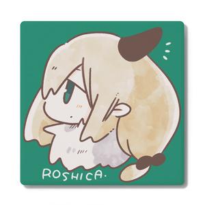 ロシカちゃんコースター