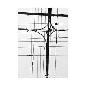 電線クリアファイル