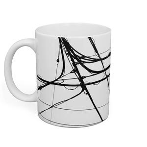 電線1 マグカップ