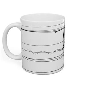 電線5 マグカップ