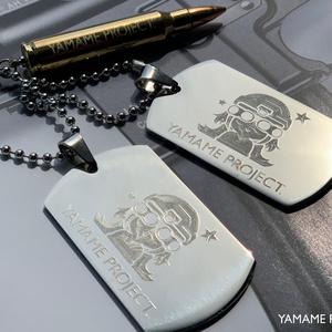 [ドッグタグ]5.56mm NATO 実物ダミーカート付き DOG-TAG