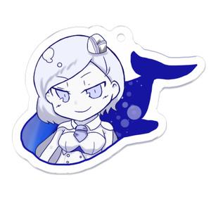 アクリルキーホルダー(太平洋深海棲姫)