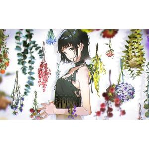 【米山舞】極厚アクリル「everlasting -flowers-」