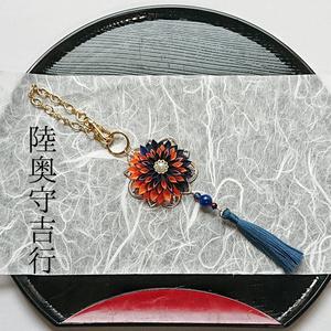 刀剣男士イメージつまみ細工バッグチャーム『序ニテ逢フ付喪神』