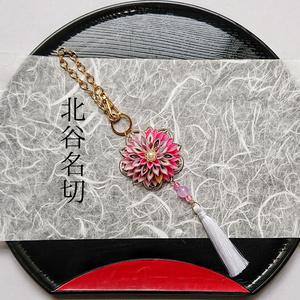 刀剣男士イメージつまみ細工バッグチャーム 『琉球ノ謡』