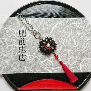 刀剣男士イメージつまみ細工バッグチャーム『改変ノ刻ガ軸ヲ告グ』