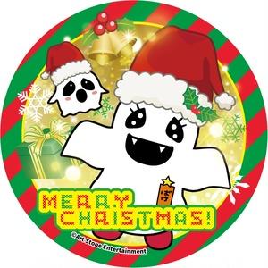 ばけごろう缶バッジ 〜メリークリスマス〜