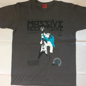 """HR/HM Tシャツ""""MASSIVE AGGRESSIVE"""""""