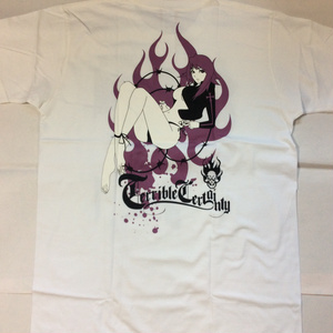 "HR/HM Tシャツ ""Terrible Certainy"""