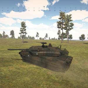 地形を読む戦車ゲーム「Terrain and Tanks」動作確認用デモ