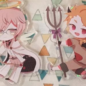 天使と悪魔アクキー
