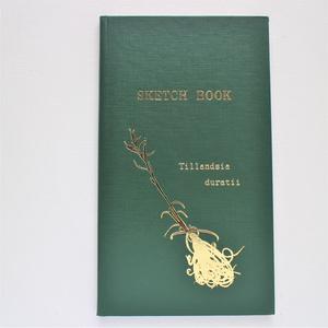 測量野帳「Tillandsia duratii」 (オリジナル箔押し野帳)