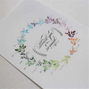 【ポストカード】万年筆インクのリース