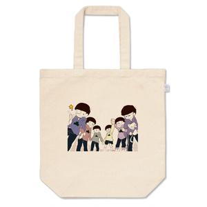 六つ子のトートバッグ