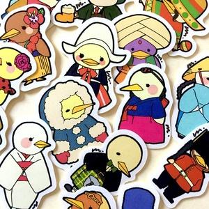 it's a bird world フレークシール