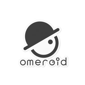 omeroid ステッカー A