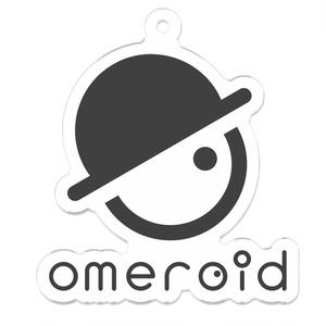 omeroid キーホルダー A