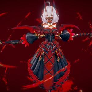 Original Character - Asellia [Vampire Girl] -Humanoid Rig +UnityPackage