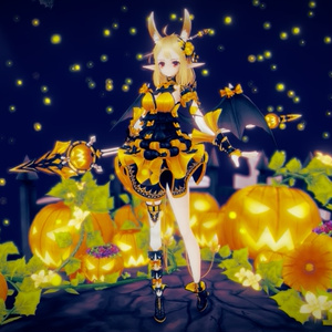 Original Character - Remon [Little Fox Girl] - Humanoid Rig + Unity Package +VRM data