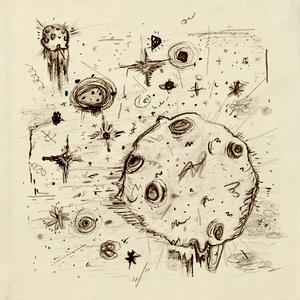 鉛筆画『宇宙』のトートバック