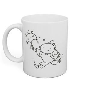 『ゆきんこ』マグカップ