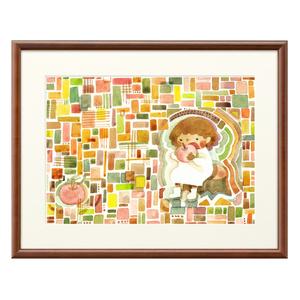 「りんご」の複製画(プリモアート)