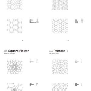 Tiling Pattern with Houdini 〜Houdiniを使った幾何学パラメトリックタイリング模様〜(紙本)