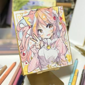 ミニ色紙(原画)