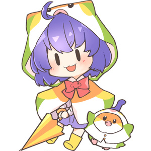 アクキー(傘につけれるアンブレラマーカー):Sugars!ココ&メジロ
