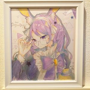 【色紙原画】紅茶擬人化シリーズ