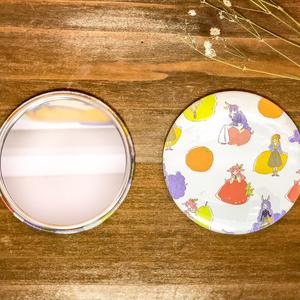 【Tea Partys】缶ミラー