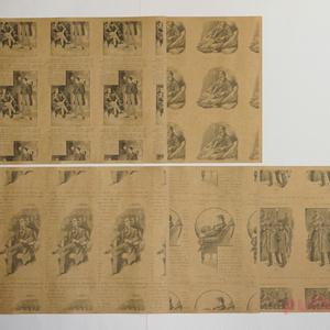 紙製ブックカバー+しおり シャーロック・ホームズ1+2+踊る人形