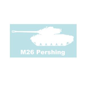 戦車ステッカー M26パーシング